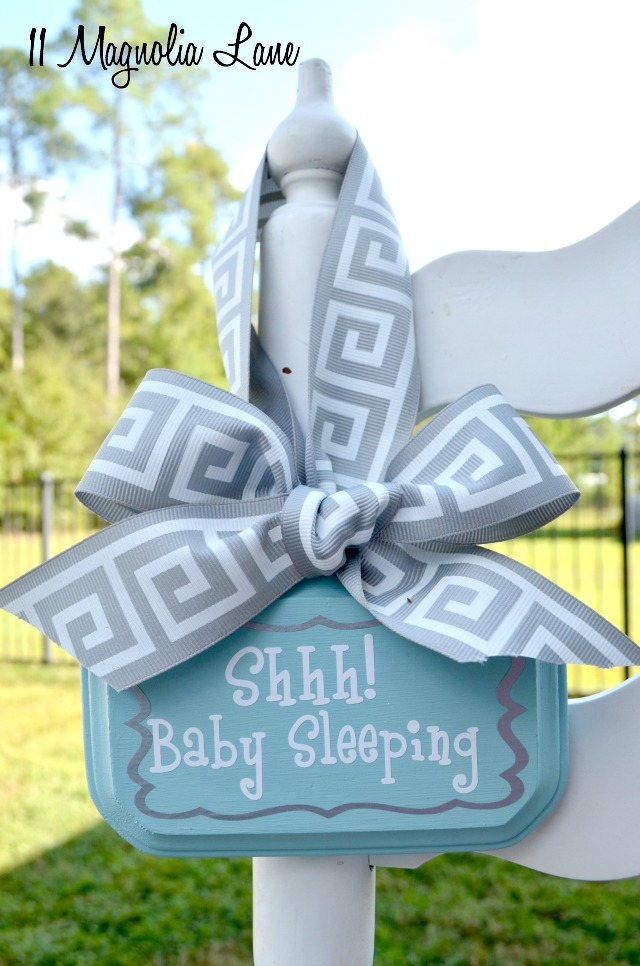 Sleepy Baby Sign