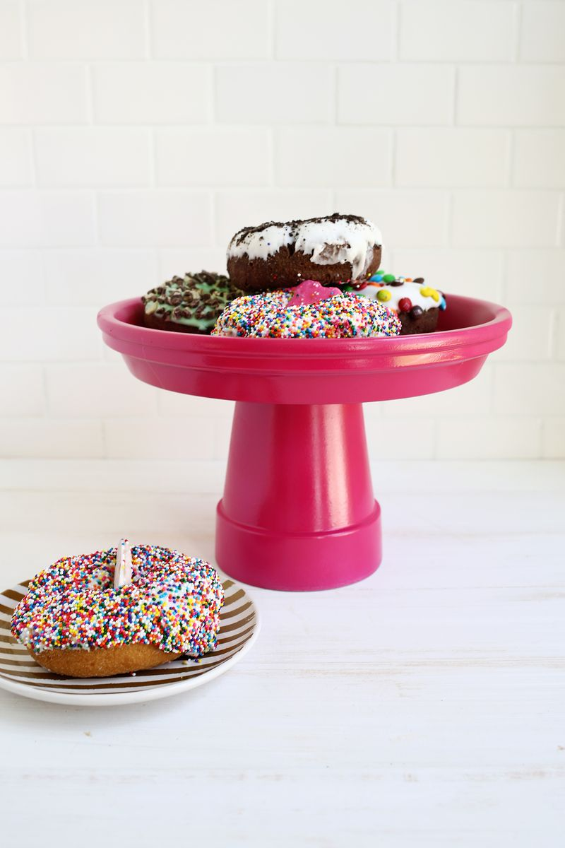 Terra Cotta Cake stand