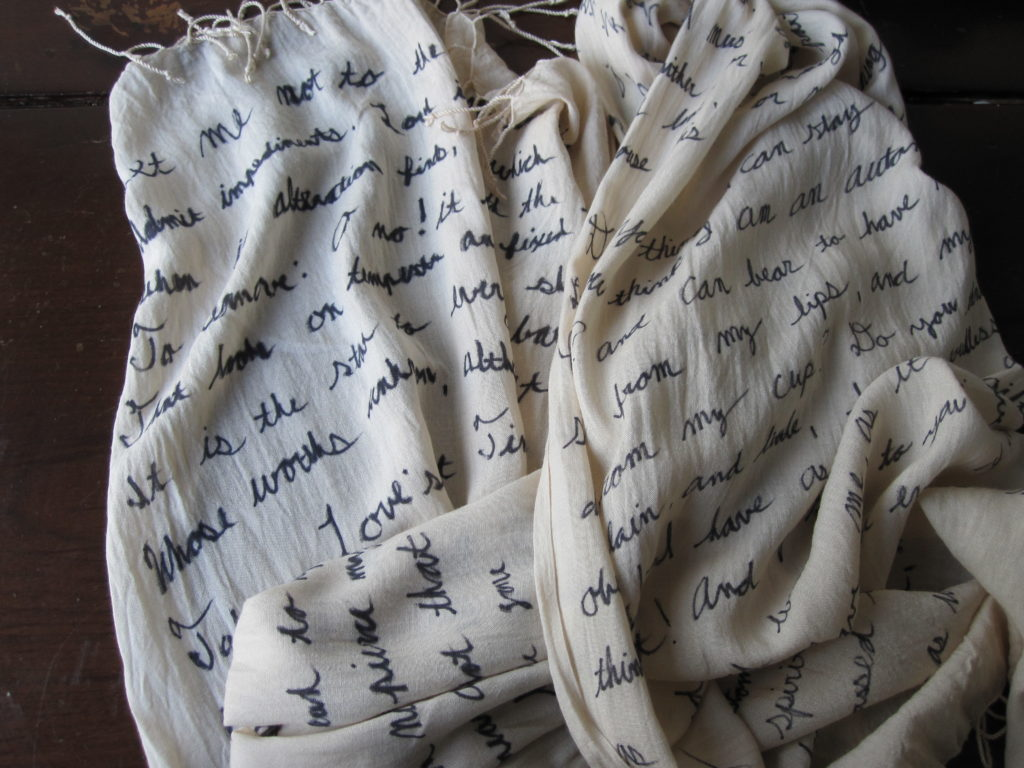 DIY Quote Scarf