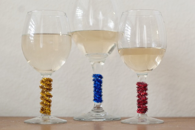 pipe cleaner wine markers