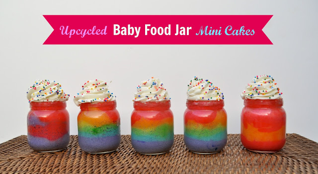 Baby Food Jar Mini Cake