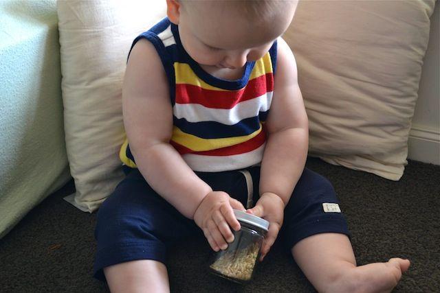 Baby Food Jar Rice Shaker