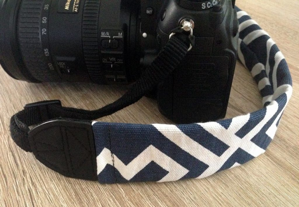 Camera Strap Sewing Tutorial Geometric