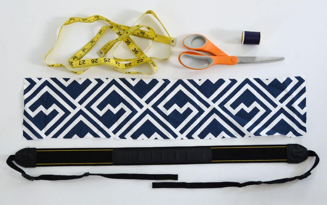 Camera Strap Sewing Tutorial Materials