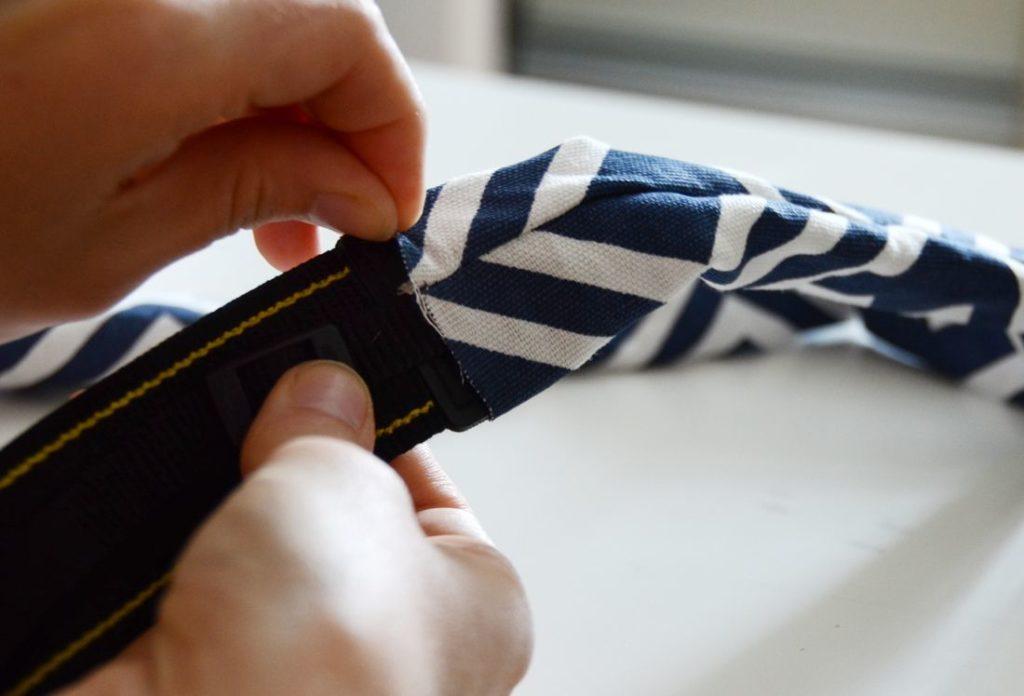 Camera Strap Sewing Tutorial Slip