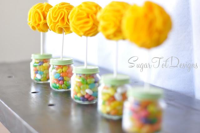 DIY Baby Jar Topiary