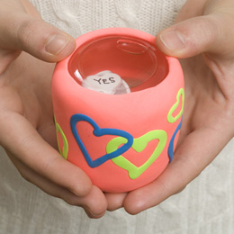 DIY Food Jar Magic Eight Ball