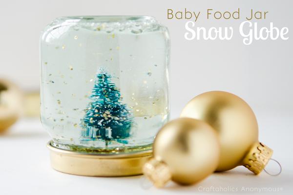 Baby Food Glass Jars Crafts
