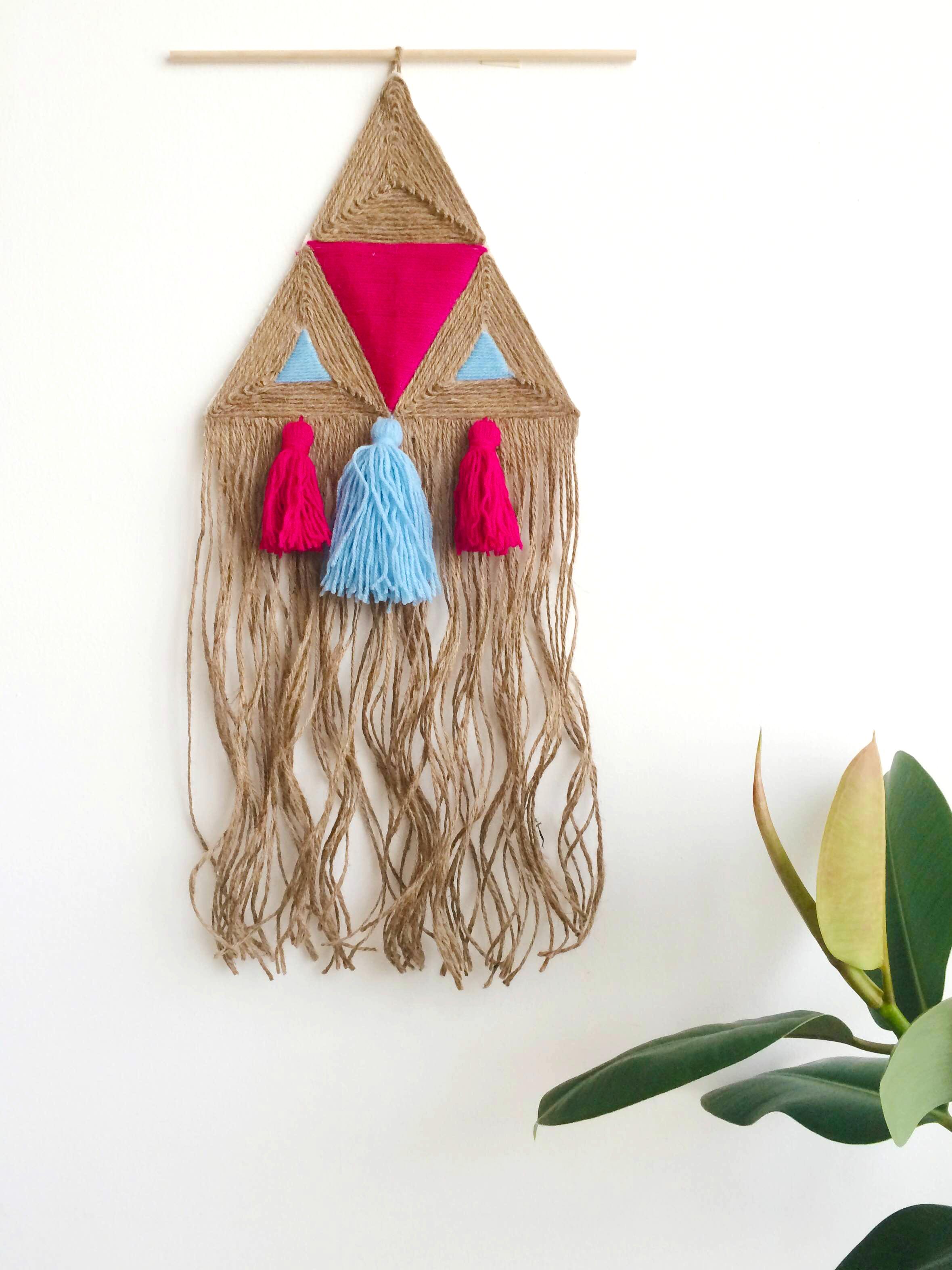 DIY Jute Wall Hanging