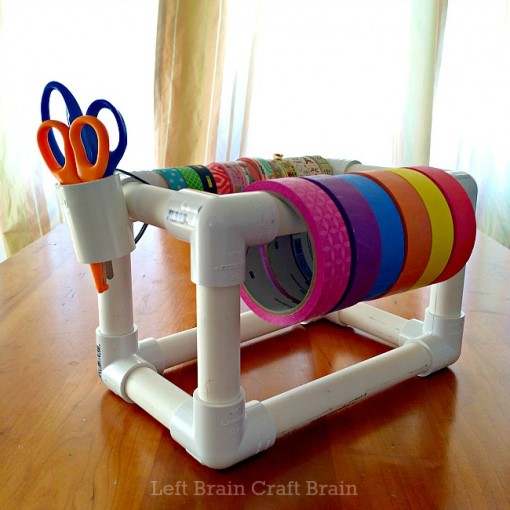 DIY Pipe Tape Dispenser