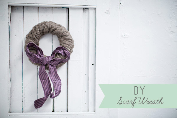 DIY-Scarf-Wreath