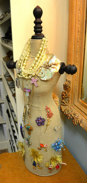 Dress Form Jewelry Display