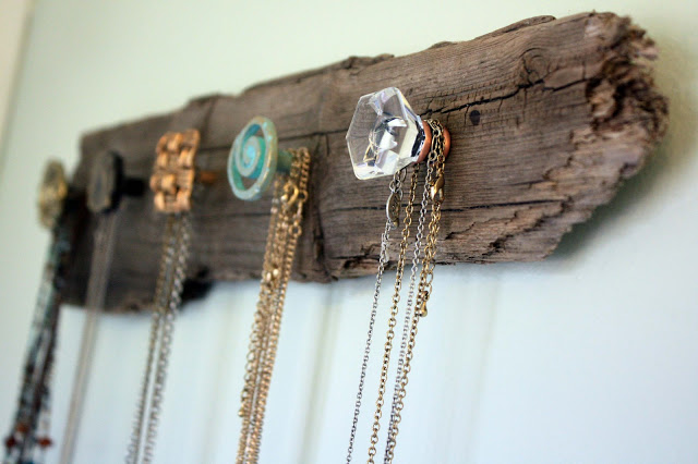 Driftwood Necklace Holer DIY