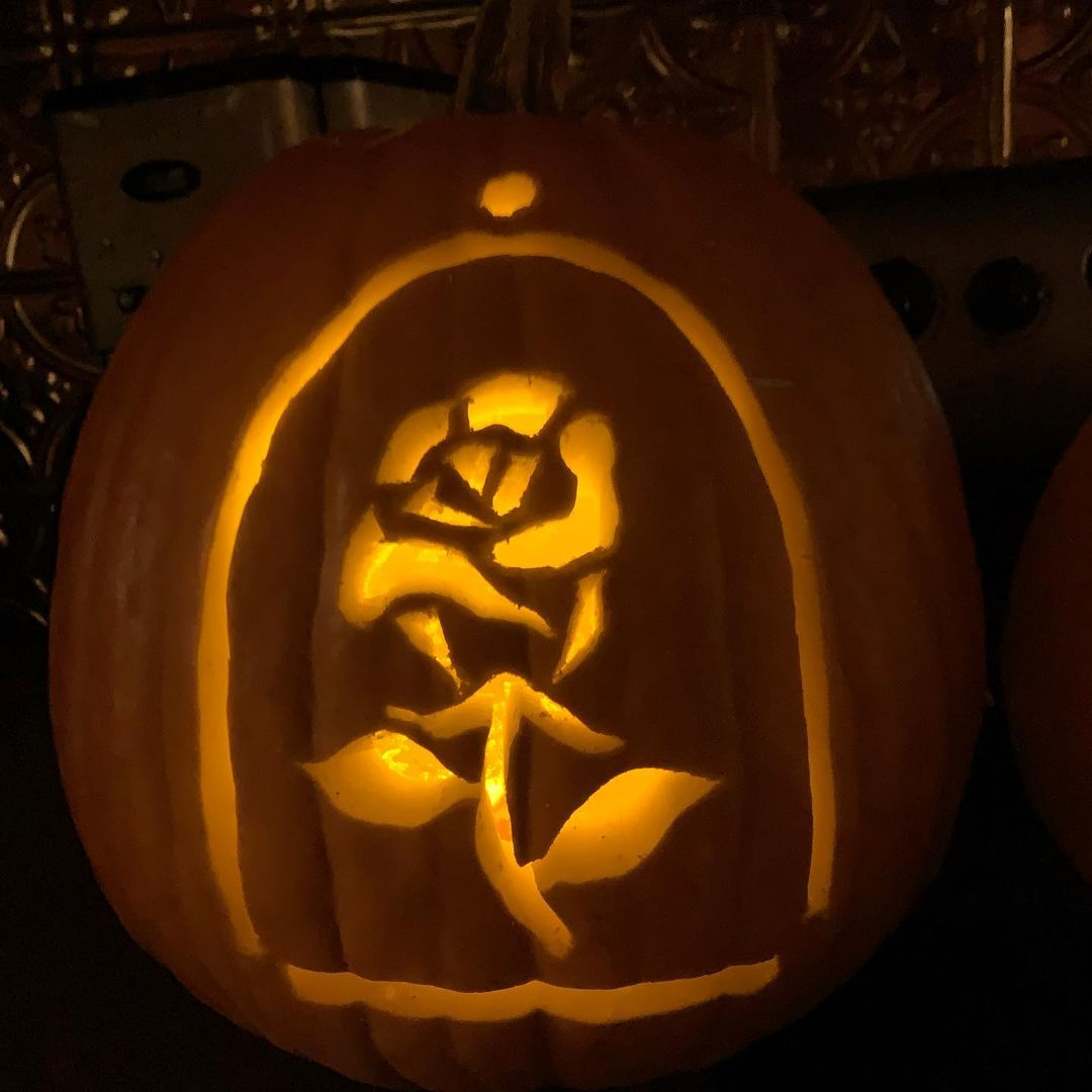 Easy halloween pumpkin ideas belle's rose