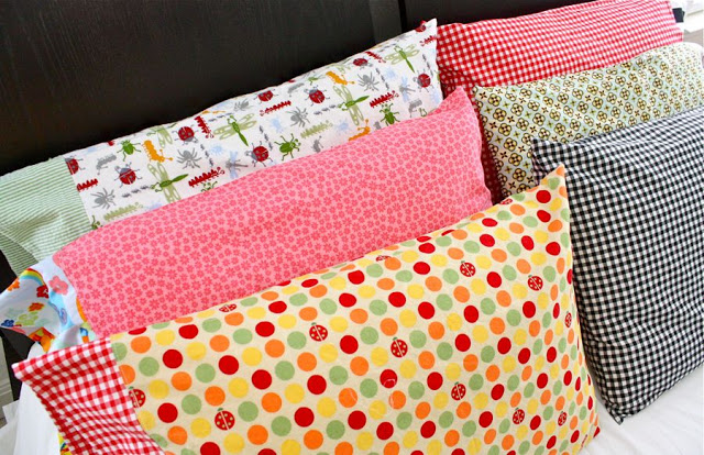 Easy Pillowcase Free Sewing Pattern