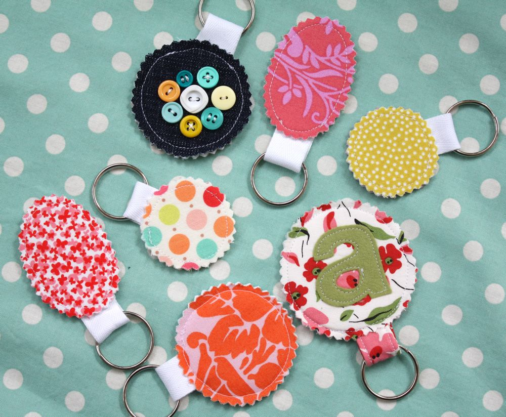 Easy Sewing Keychain Tutorial