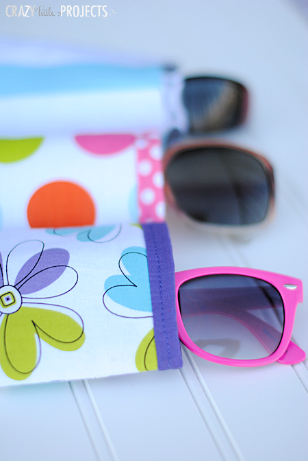 Easy Sewing Sunglass Case
