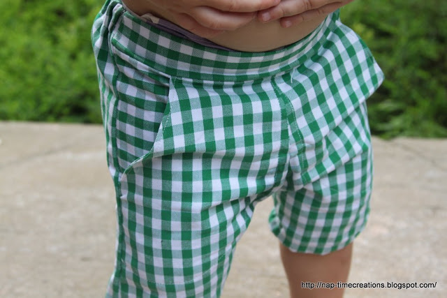 Free Sewing Pattern Boy Shorts