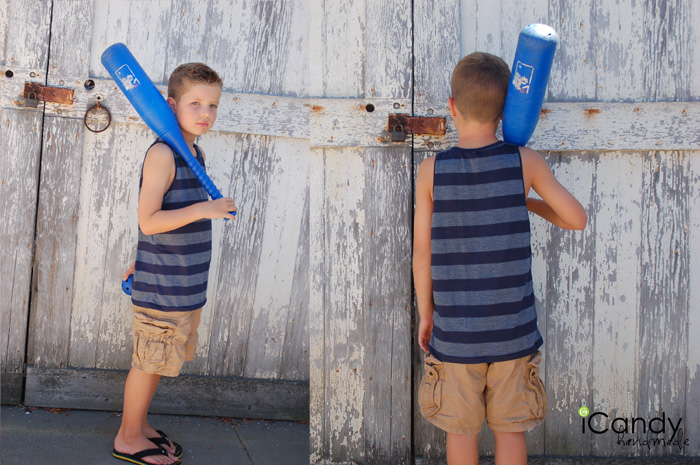 Free Sewing Pattern Boys Tank