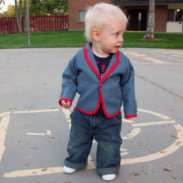 Free Sewing Pattern For LIttle Boy Suit Jacket