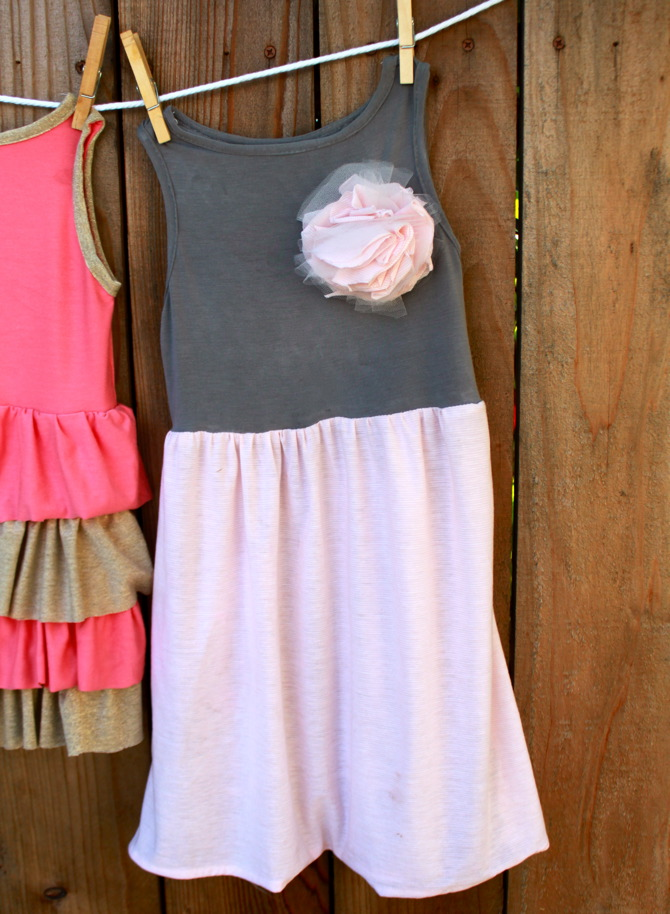 Free Sewing Pattern Jersey Dress