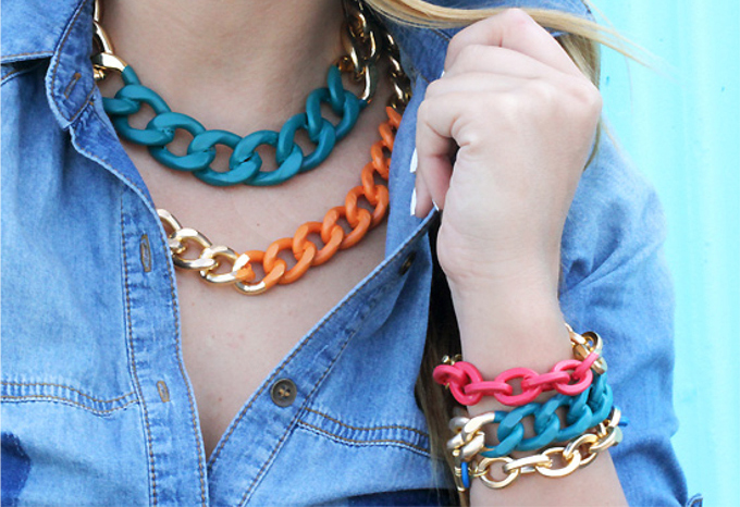 Ispydiy chain necklace