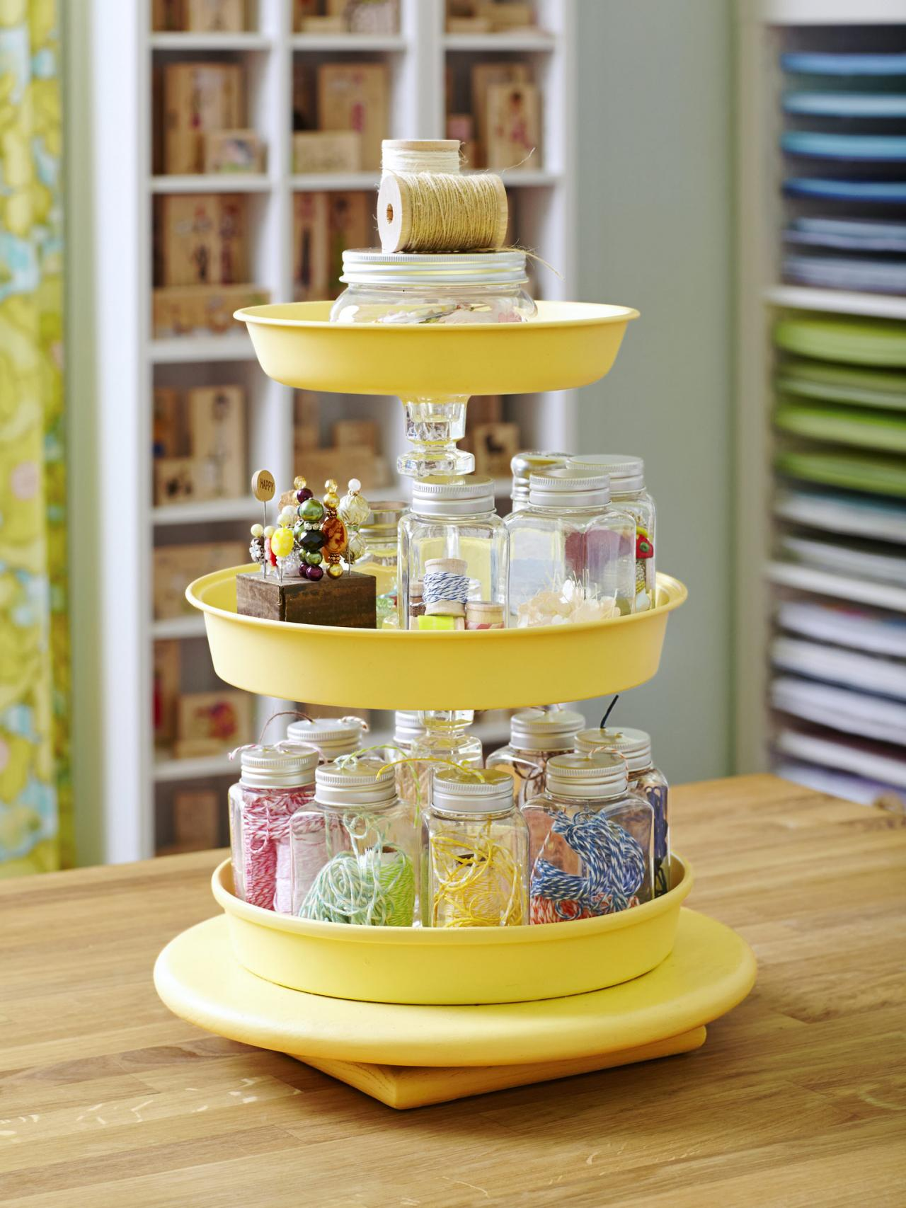 Lazy Susan Tiered ORganizor