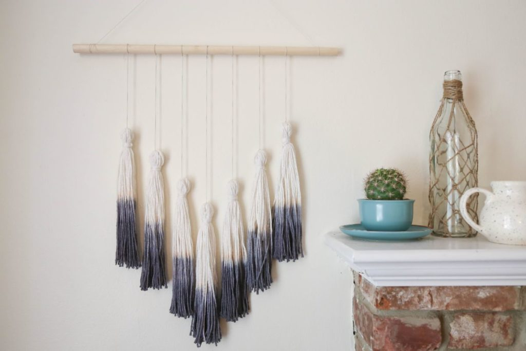 How To Make Tassels Wall Hanging