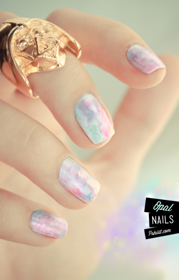 25 simple nail art tutorials for beginners opal nail art solutioingenieria Images