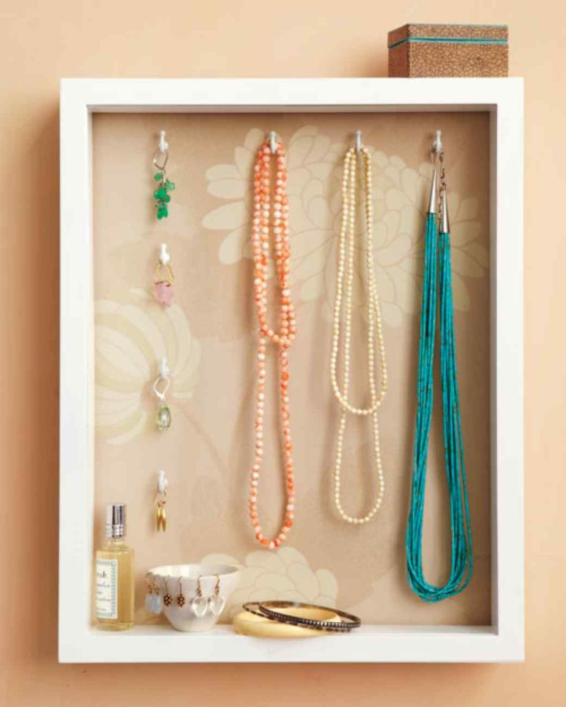Shadowbox Jewelry Holder