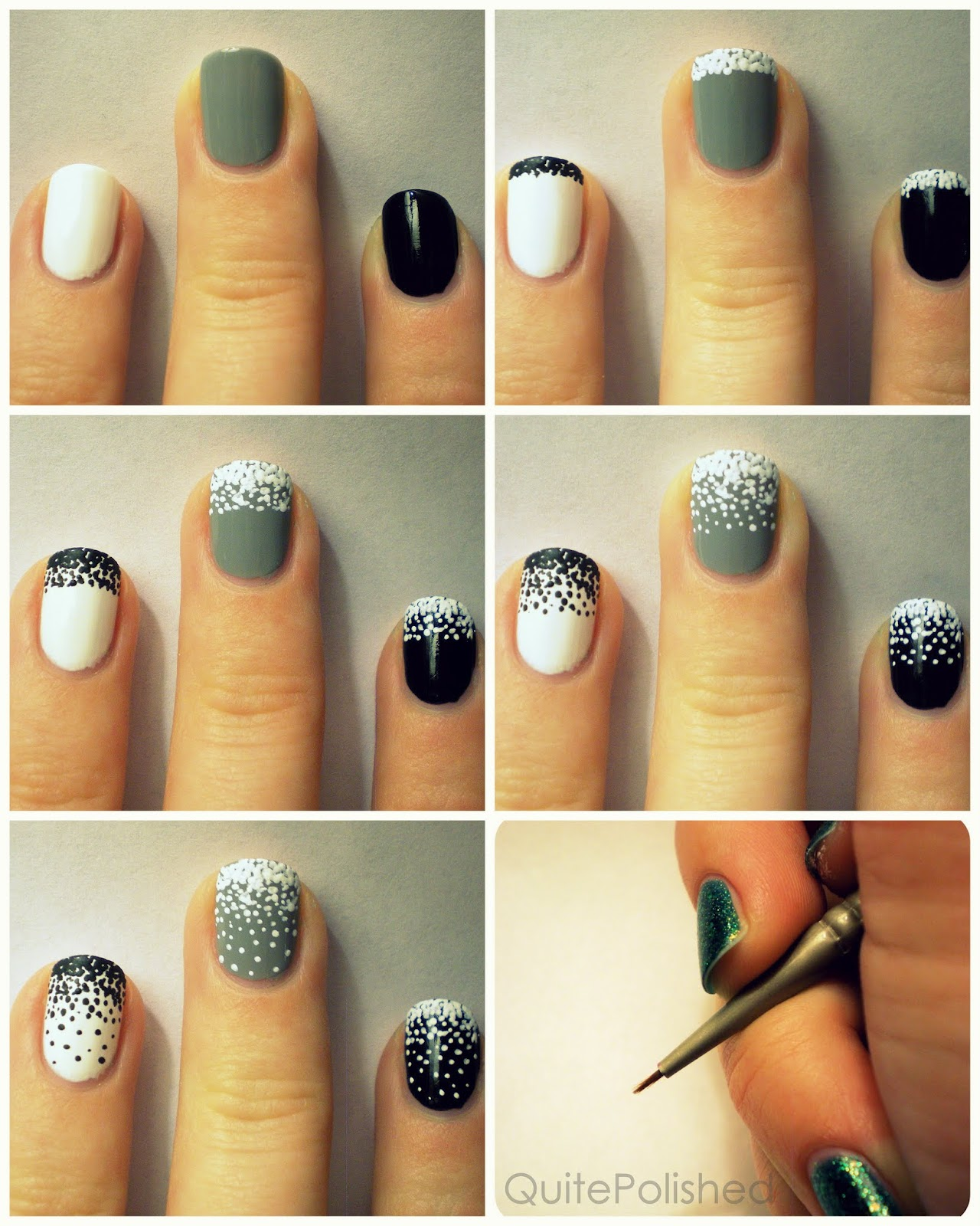 Snow Nail Art This Topped Look Is So Much Fun To Recreate But Its Also Easy Which What Were All Looking For