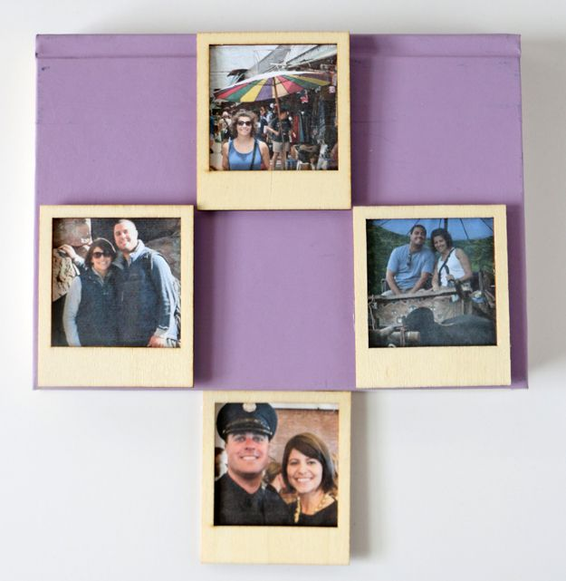 Turn Instagram Pictures Into Poloroid Magnets Book