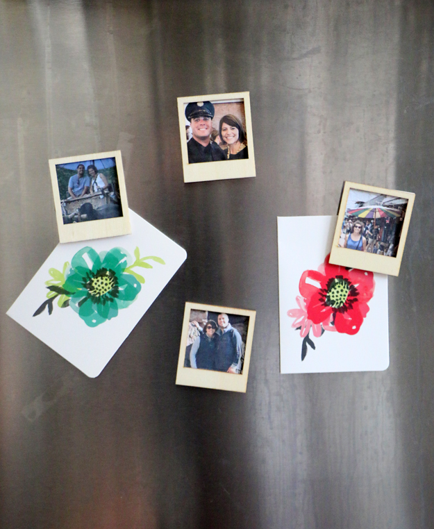 Turn Instagram Pictures Into Poloroid Magnets Fridge
