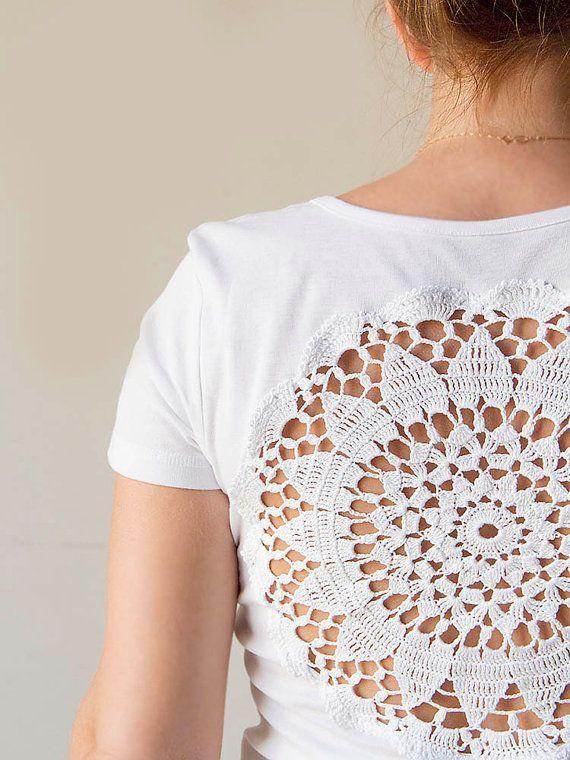 White t-shirt diy