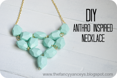 anthropology inspired necklace