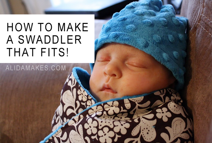 baby swaddler that fits diy