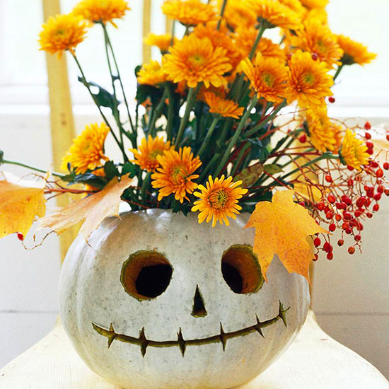 face vase pumpkin