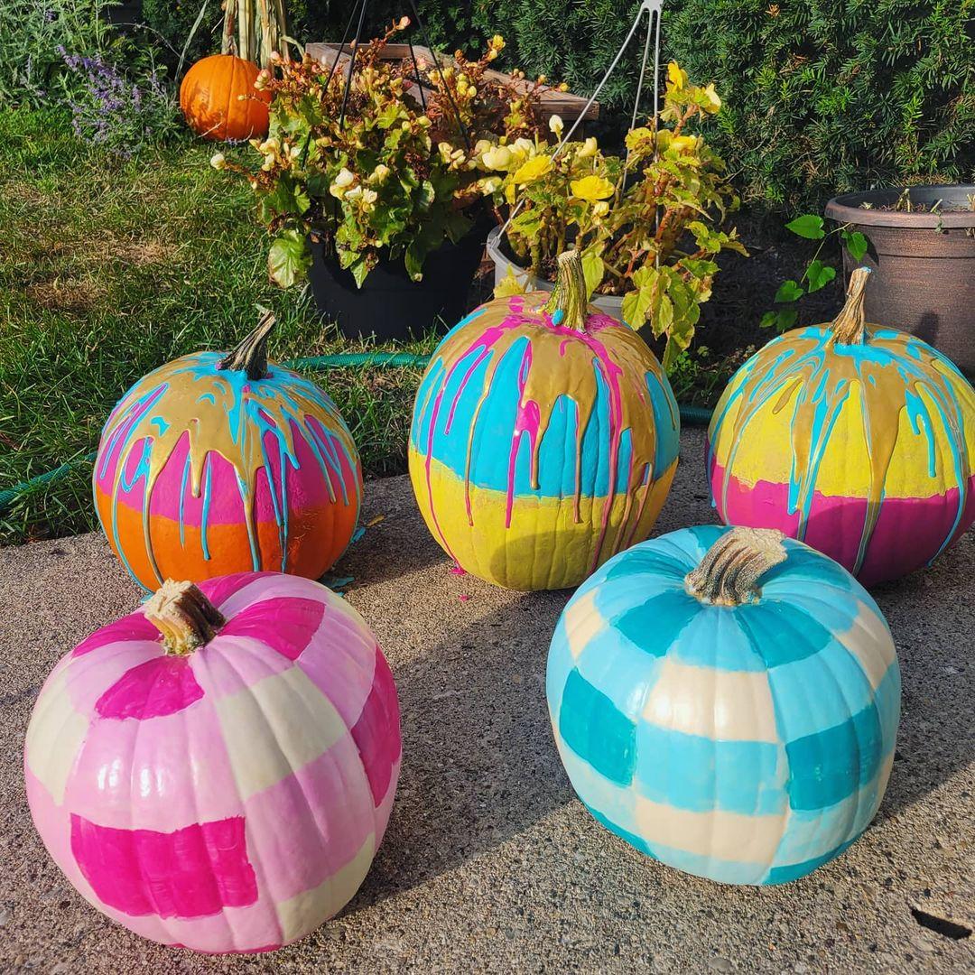 Halloween pumpkin painting ideas blast of color