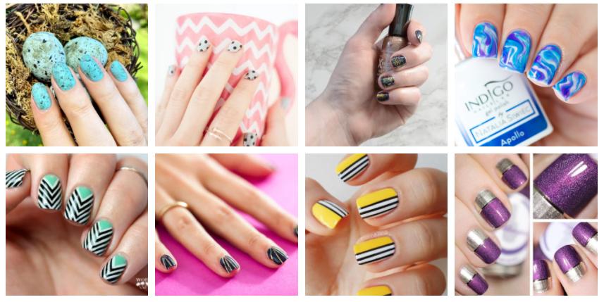 40 Simple Nail Art Tutorials For Beginners