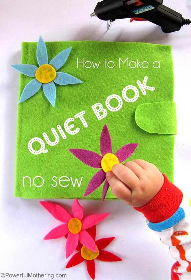 quiet book no sew