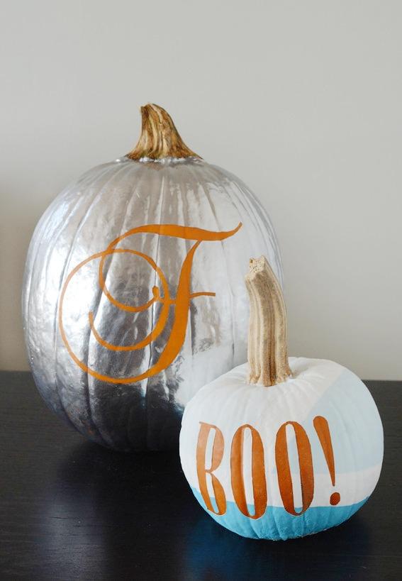 typography pumpkin