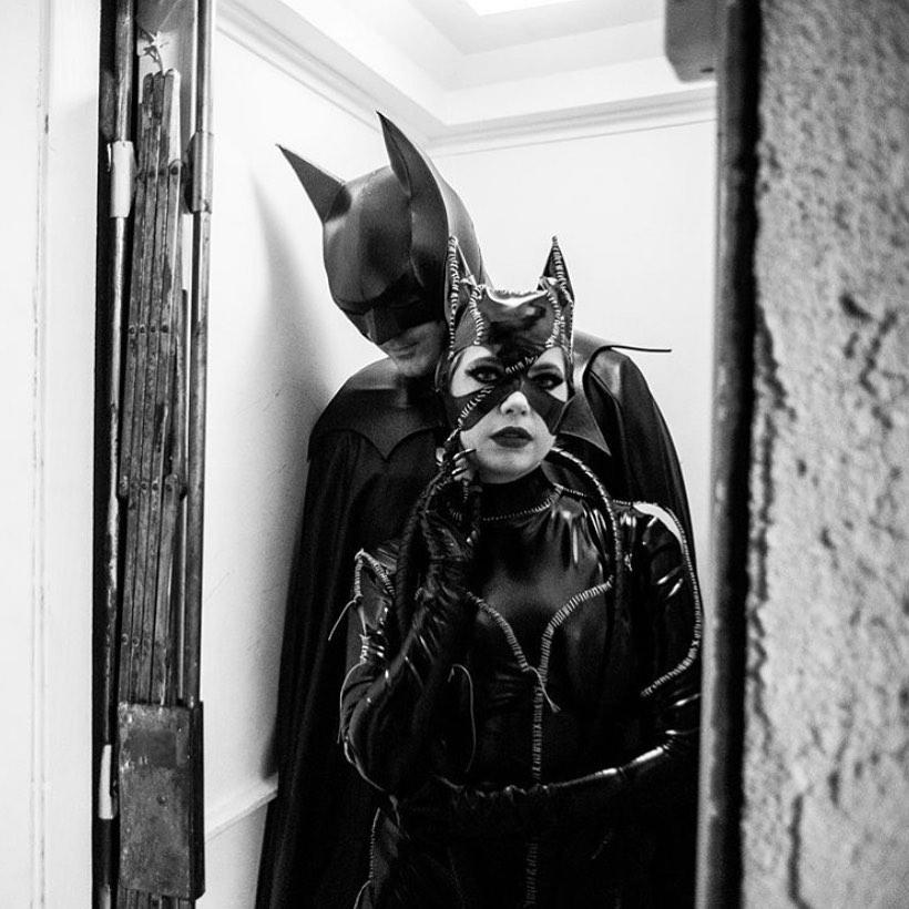 Batman and batwoman couples halloween costumes