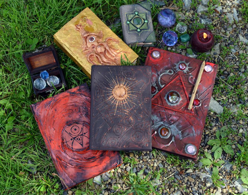 Black magic altar