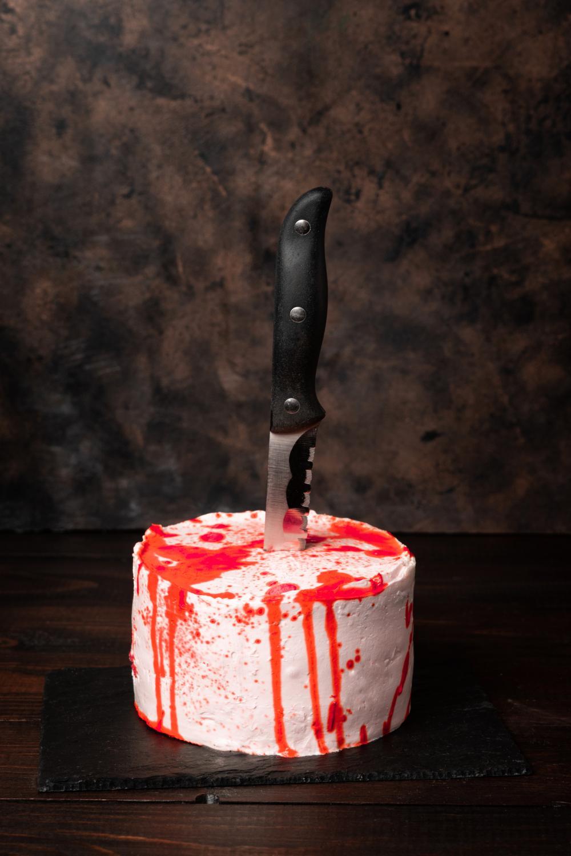 Bleeding monster cake