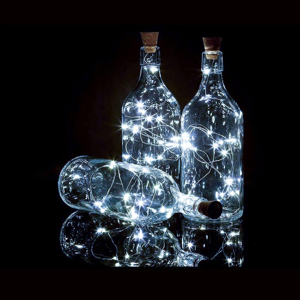 Bottle lights halloween aesthetic idea