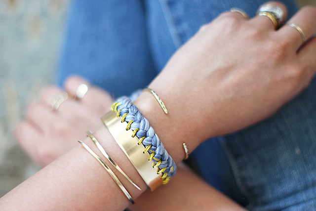 Braided DIY Bracelet