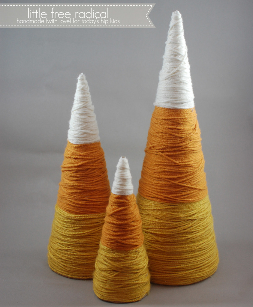 Candy Corn Tree Diys