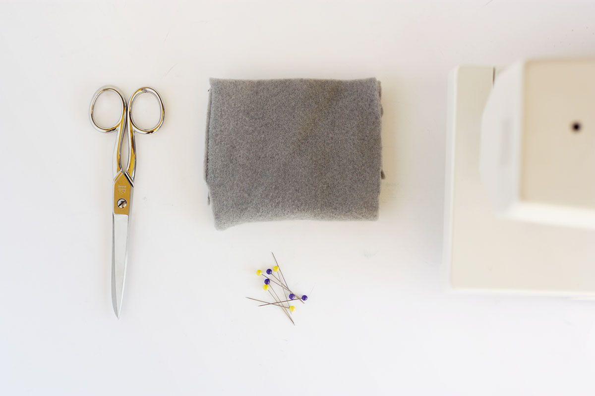 DIY Heart Bookmark Materials