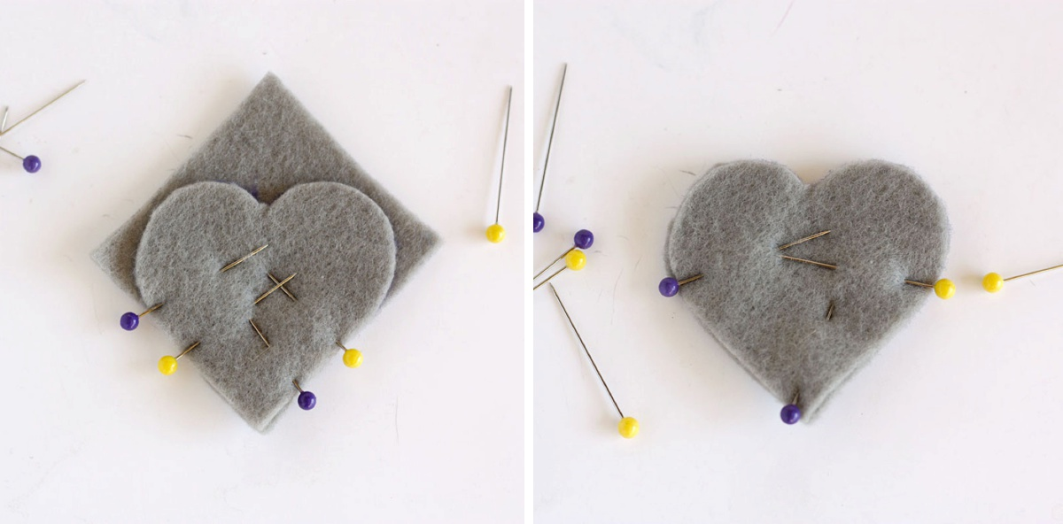 DIY Heart Bookmark V Part