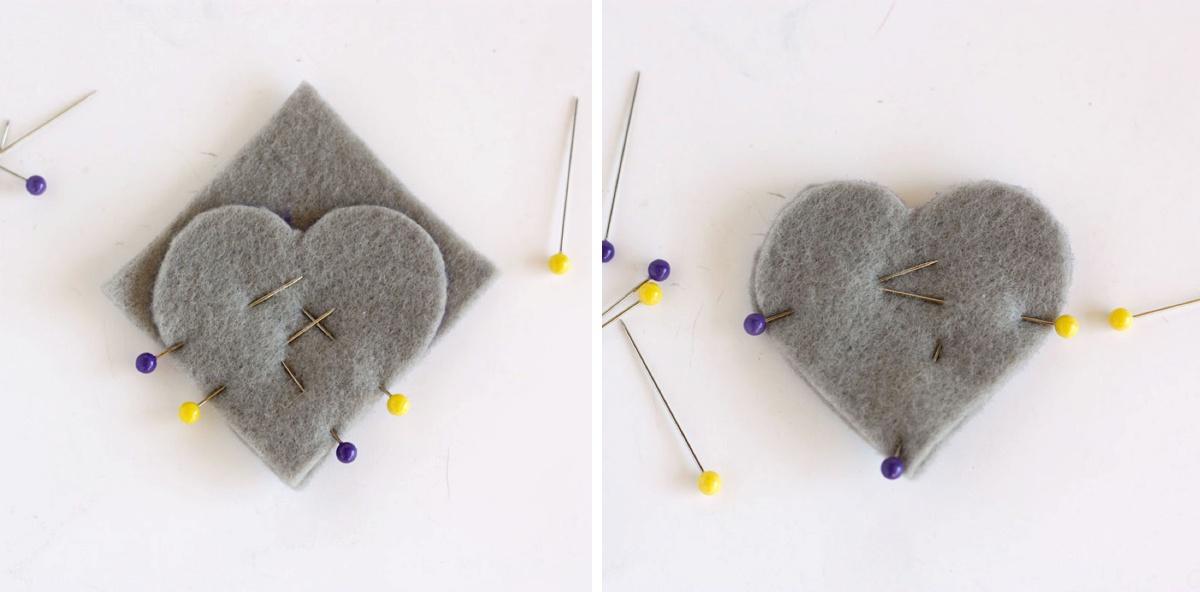 DIY Heart Bookmark V Part